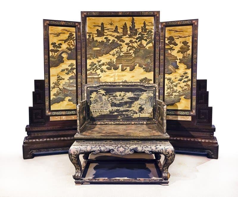 中国帝国s位子 免版税图库摄影