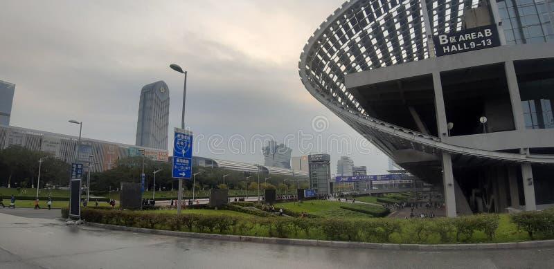 中国广州展览会小岛 库存照片