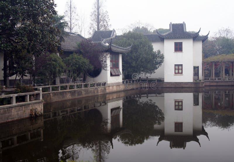 中国庭院上海 免版税库存图片