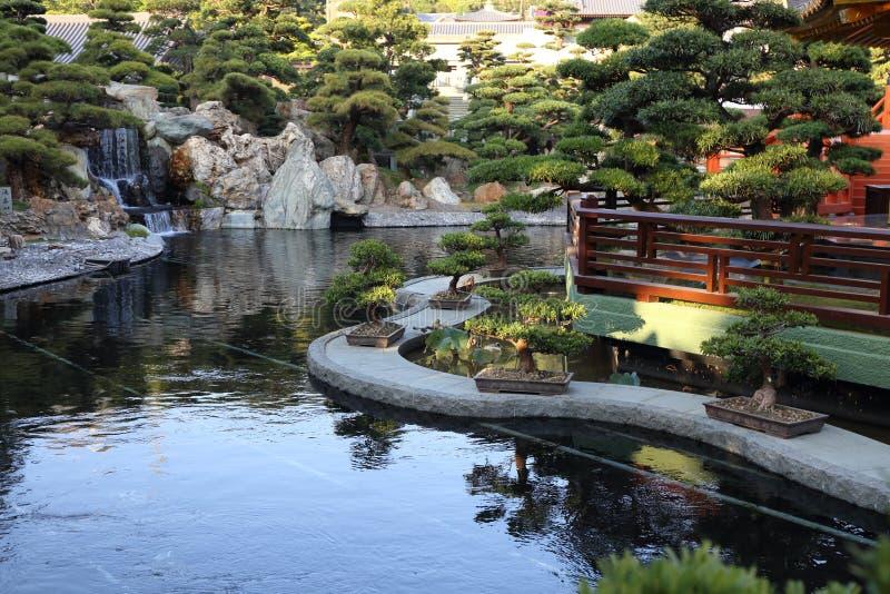 中国庭院样式 库存图片