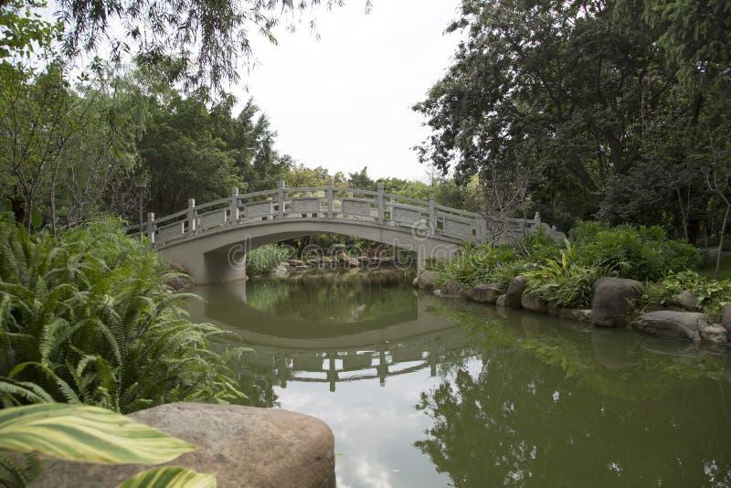 中国庭院设计 免版税库存照片