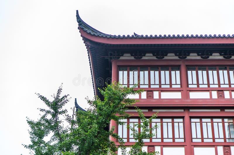 中国式大厦 免版税库存图片