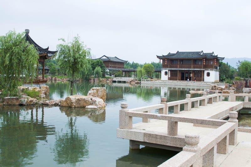 中国式庭院 免版税库存图片