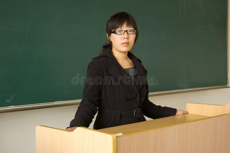 中国教师 免版税库存图片