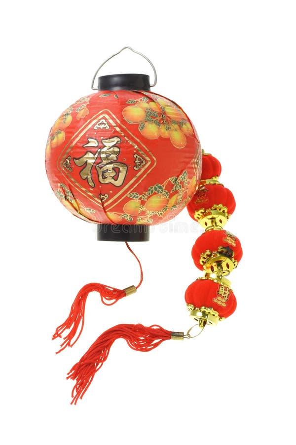中国新的装饰品年 免版税库存图片