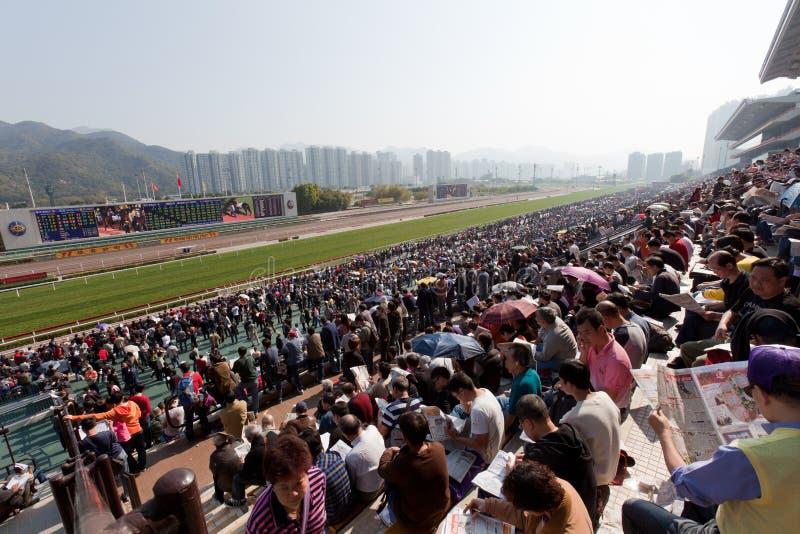 中国新的raceday年 库存照片