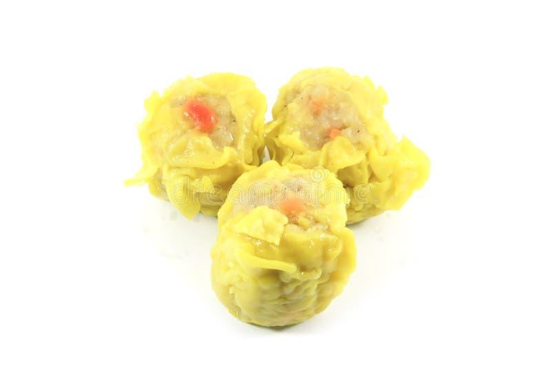 中国昏暗的饺子总和 免版税库存照片