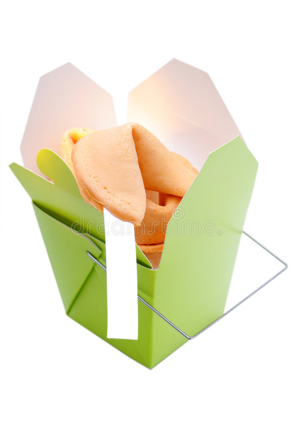 中国曲奇饼时运 库存图片
