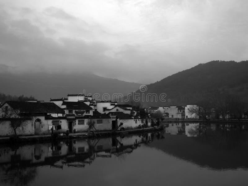 中国村庄 图库摄影