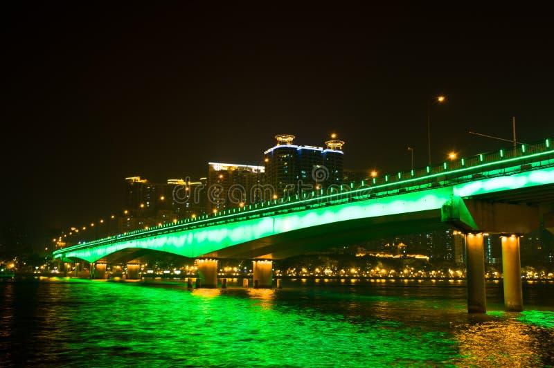 中国桥梁 库存图片