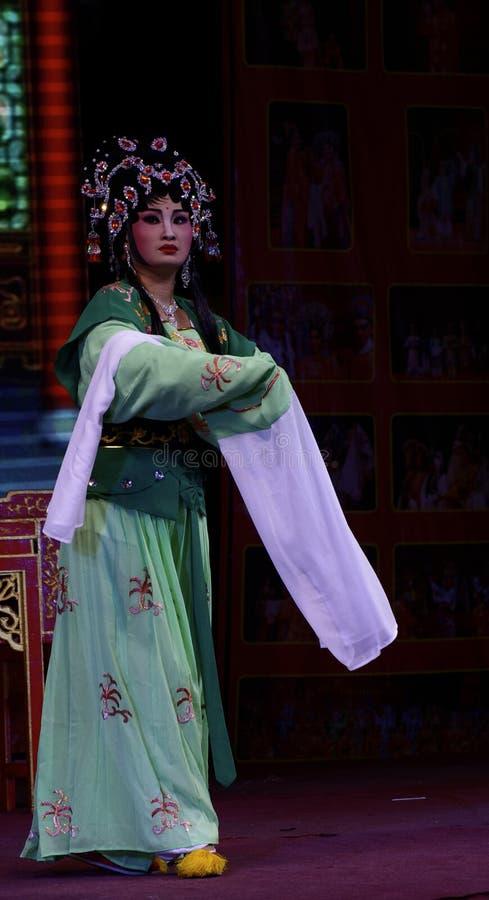 中国歌剧的女演员 库存图片