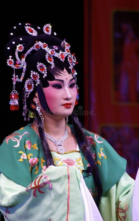 中国歌剧的女演员 图库摄影