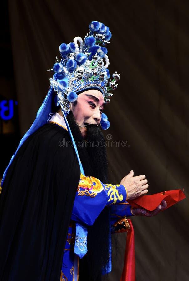 中国歌剧的演员 图库摄影