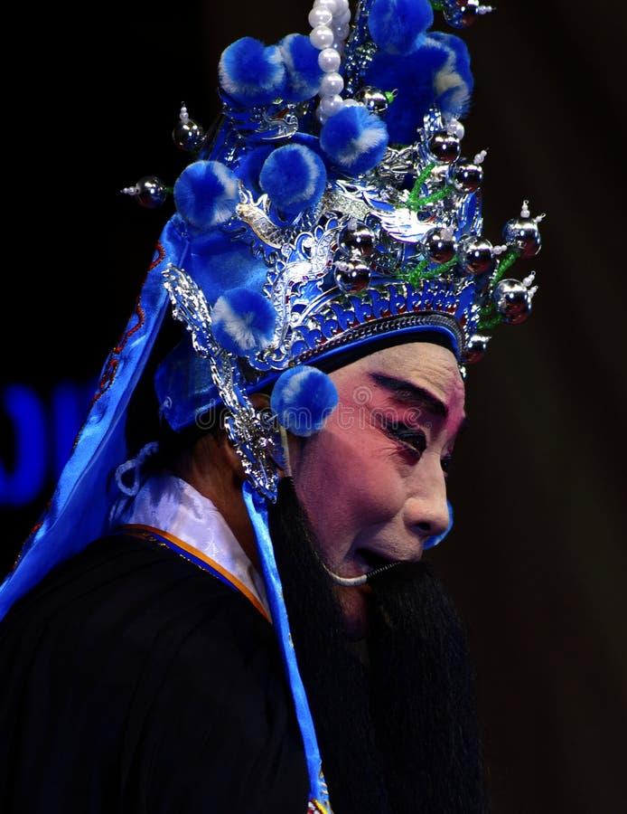 中国歌剧的演员 库存照片