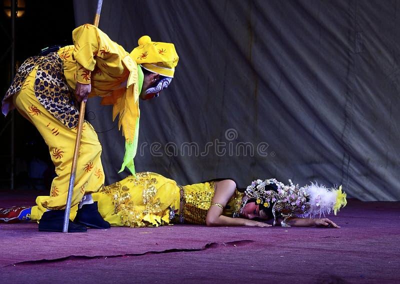 中国歌剧的actrors 库存图片