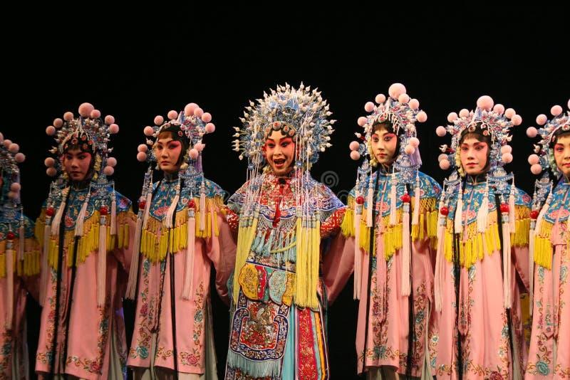 中国歌剧,小组演员 库存图片
