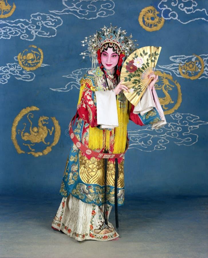 中国歌剧 免版税图库摄影