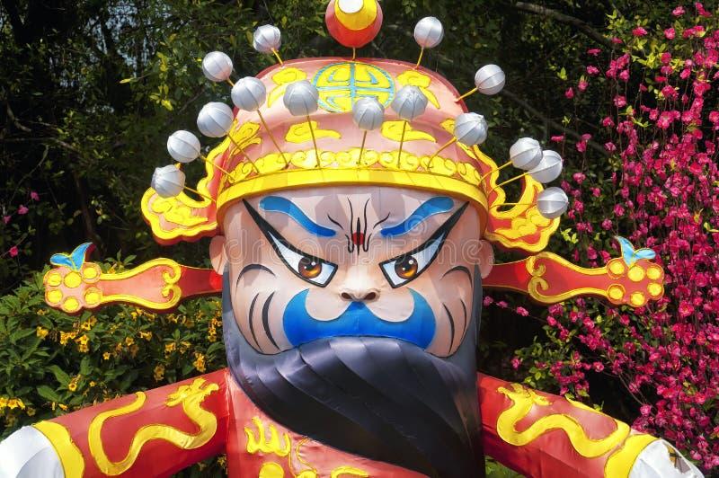 中国民间文化字符深圳瓷 免版税库存照片