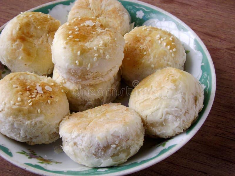 中国浆糊状肉馅饼 免版税库存图片