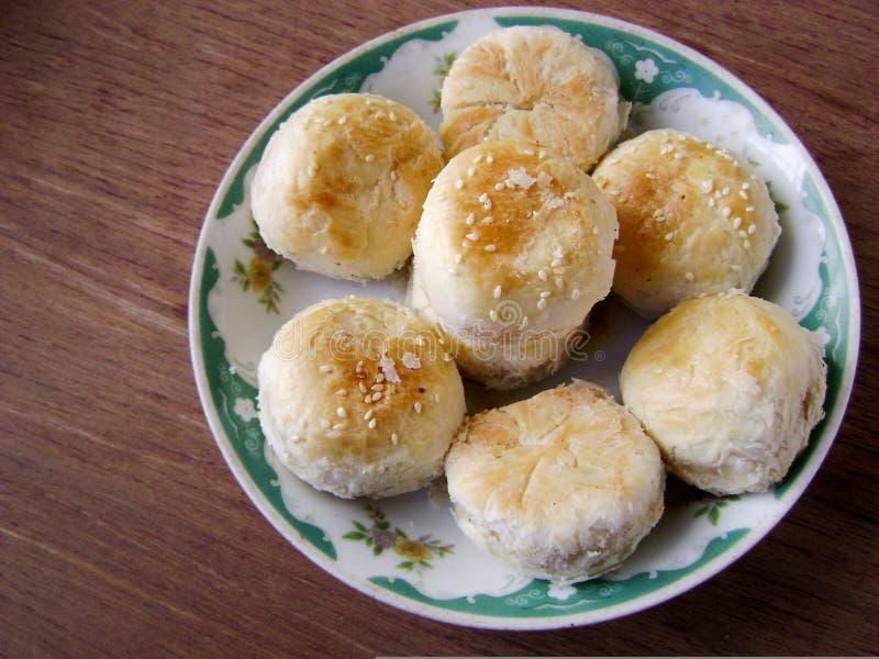 中国浆糊状肉馅饼 库存图片