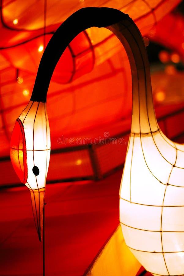 中国灯笼纸张 库存照片