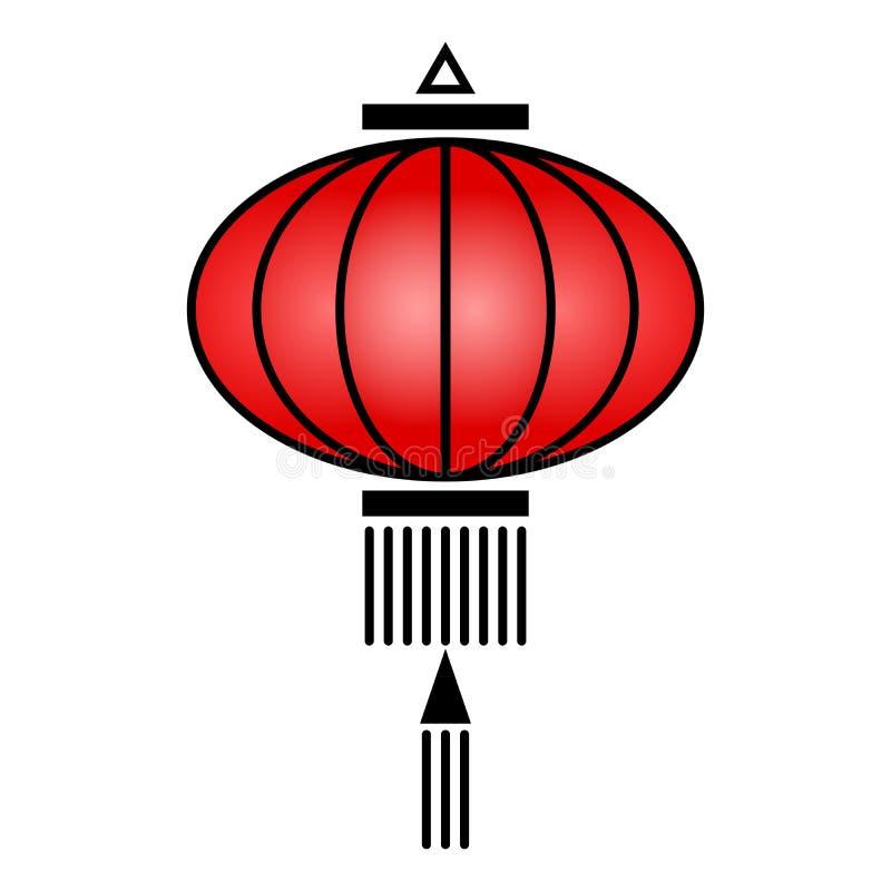 中国灯笼象 皇族释放例证