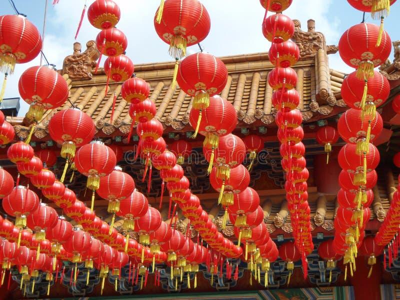 中国灯笼马来西亚 免版税库存照片