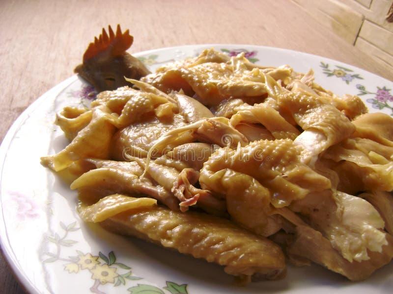 中国烹调叫化子鸡 免版税库存照片