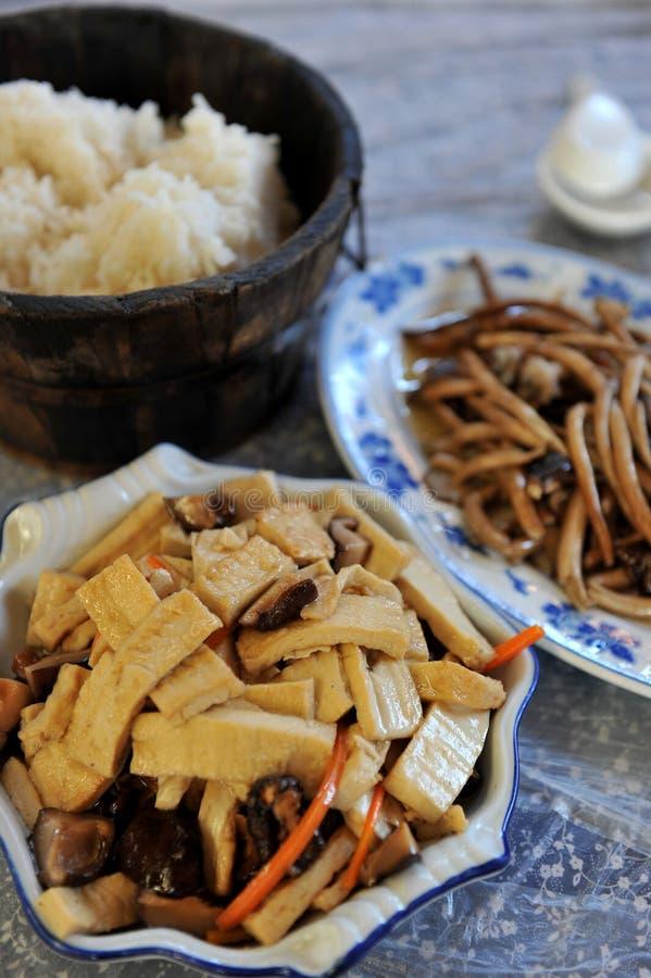 中国烹调 库存照片