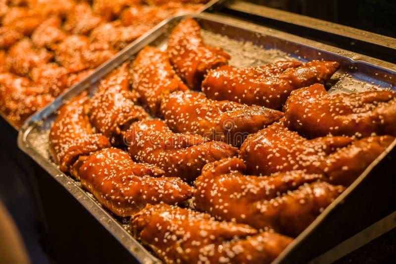 中国猪烤肉 免版税库存照片