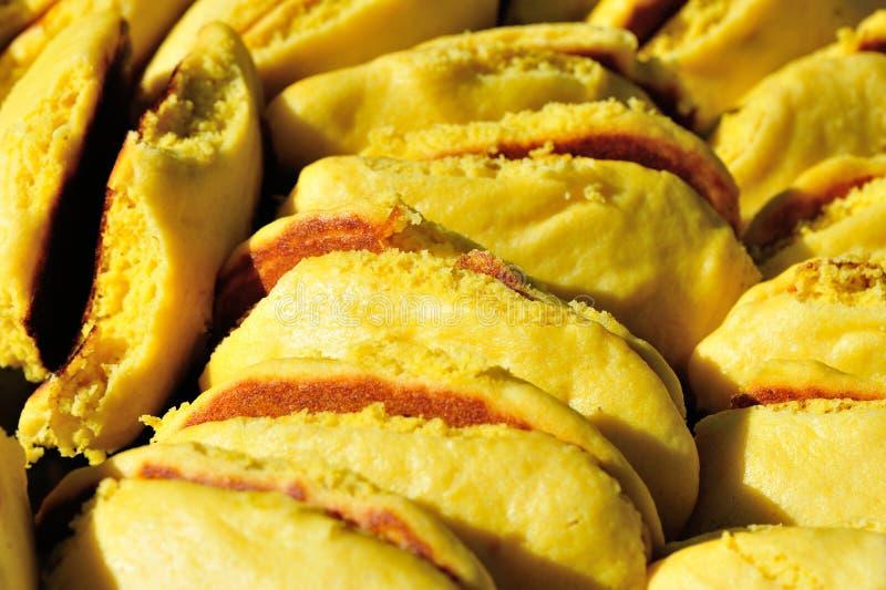中国玉米薄煎饼 图库摄影