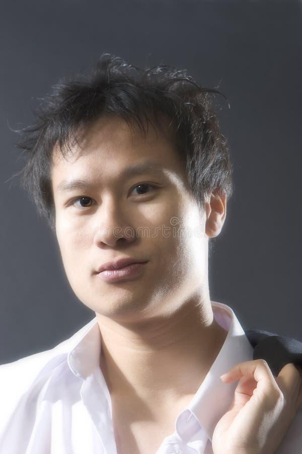 中国男 免版税库存照片