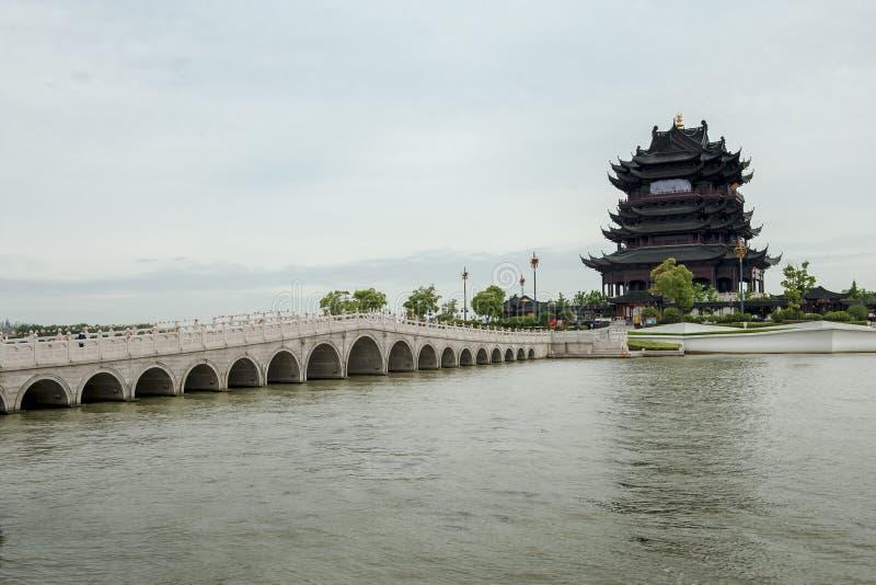 中国的古老桥梁 免版税库存照片