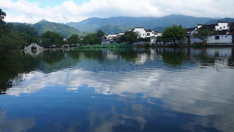 中国的宏村 免版税库存照片