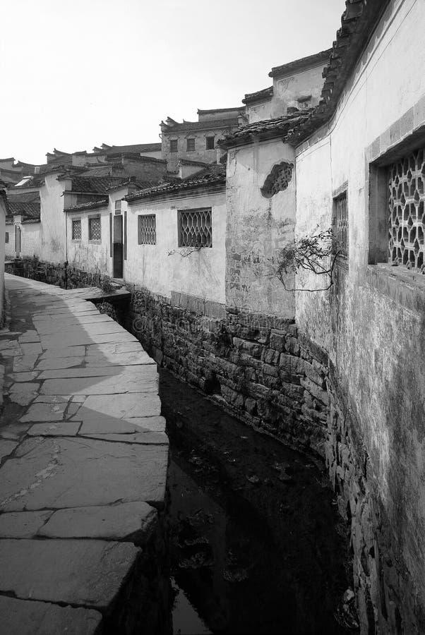 中国的老房子 免版税库存照片