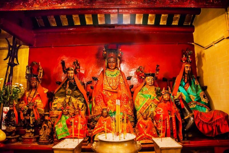 中国神东华三院文武庙香港 库存图片