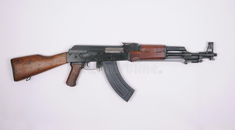 中国类型56攻击步枪。 卡拉什尼科夫。 库存照片