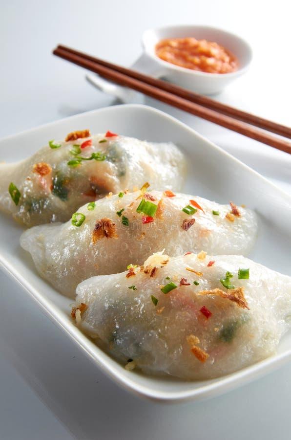 中国粤式点心 库存照片