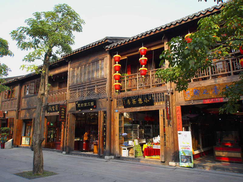 中国结构ï ¼ Fuzhouï ¼中国 免版税库存照片
