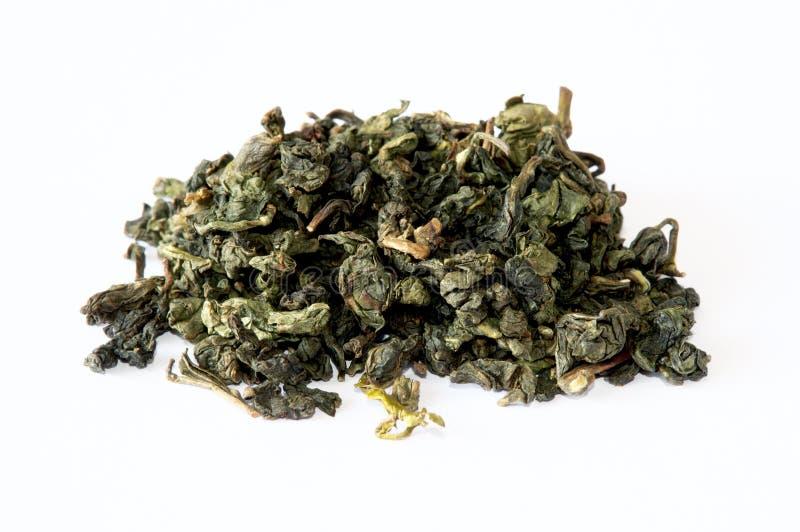 中国绿色oolong茶 免版税库存照片