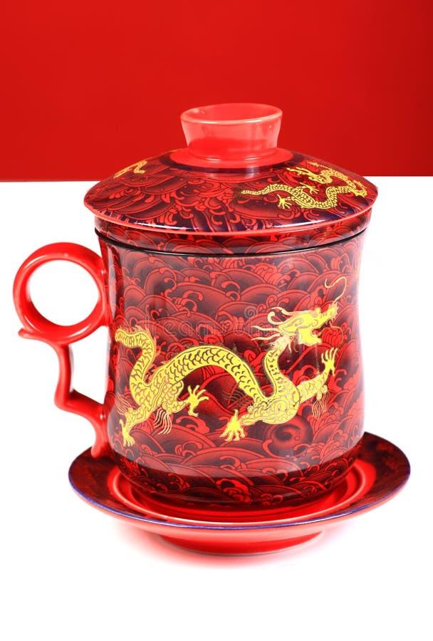中国罐茶 免版税库存照片