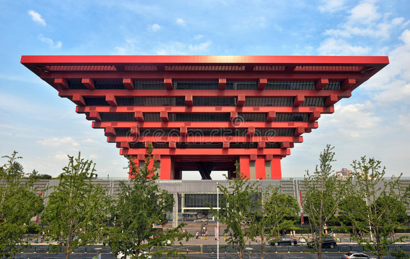 中国美术馆,上海 库存照片