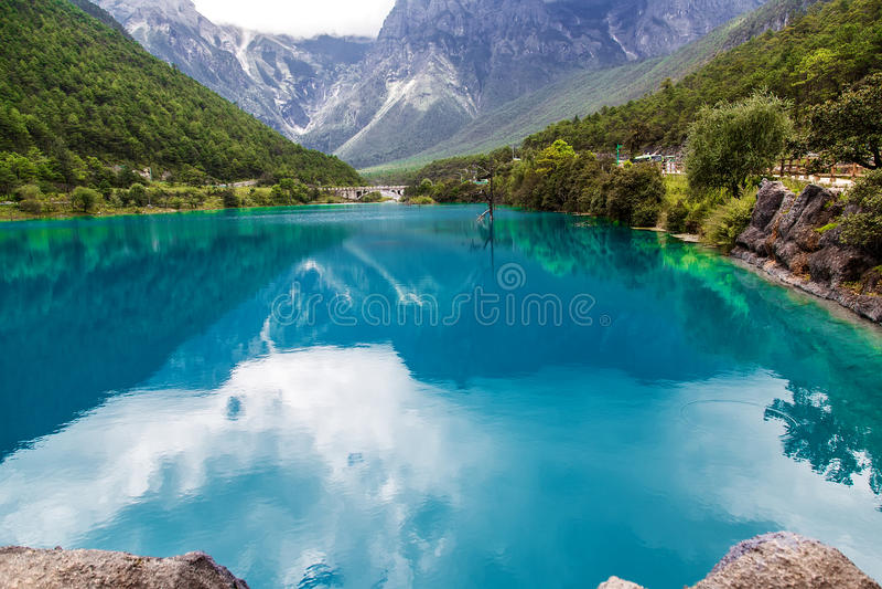 中国自然风景 免版税图库摄影
