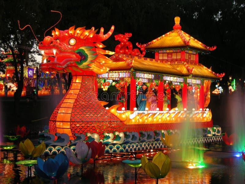 中国节日灯笼 库存照片