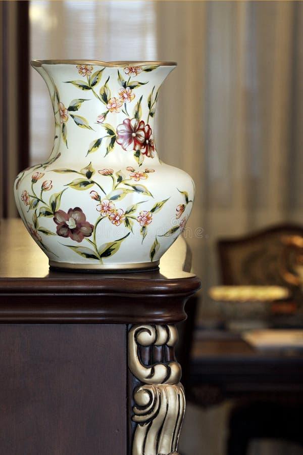 中国花瓶 免版税图库摄影
