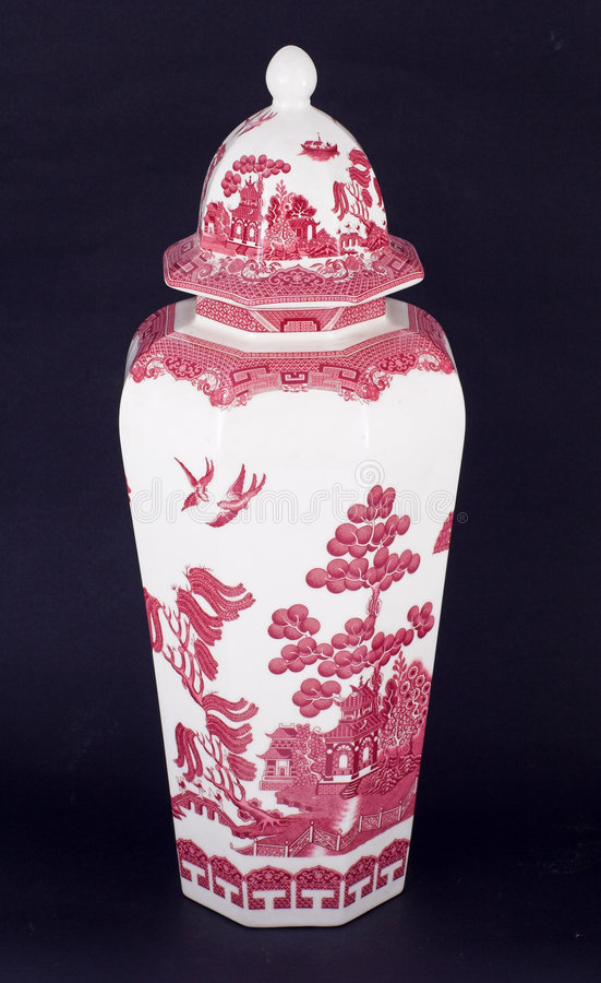 中国花瓶 图库摄影