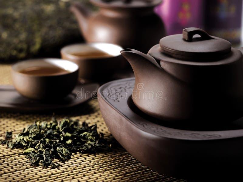 中国茶具 免版税图库摄影