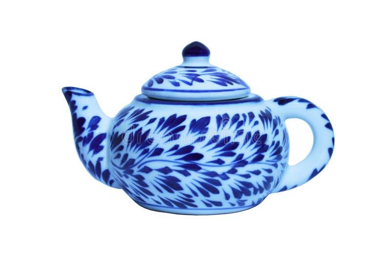 中国茶罐 免版税库存照片