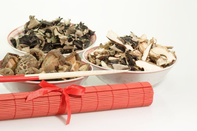 中国蘑菇排序 库存图片