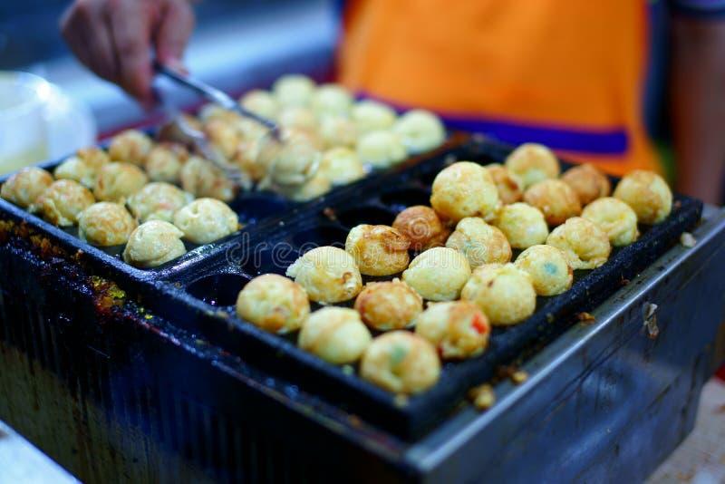 中国街道食物 免版税库存照片